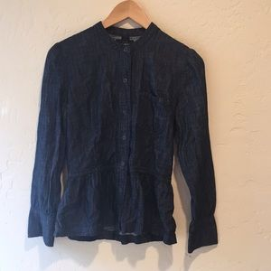Lucky Brand Long Sleeve Button-Up